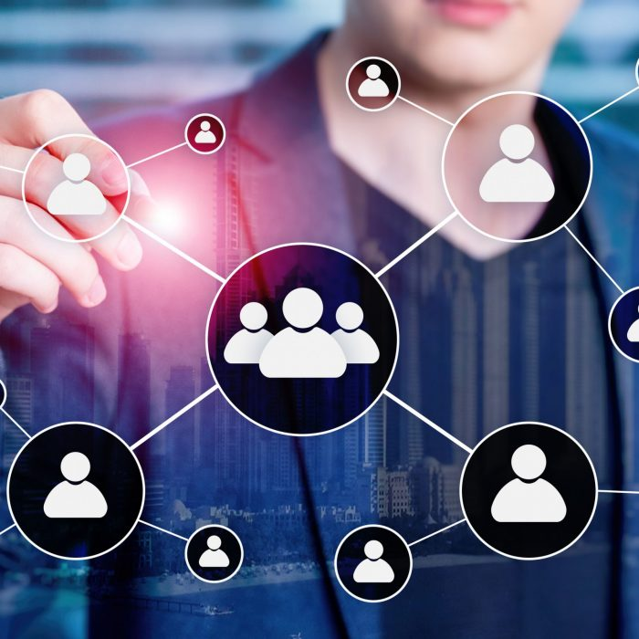 hr-human-resources-management-concept-on-blurred-business-center-background-128392850